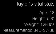 Taylor is only 18