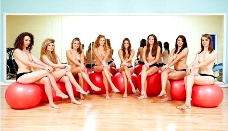 Topless Netball Girls