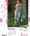 Ladies of Longboarding – Topless Calendar