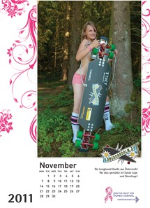 Longboard Ladies Calendar