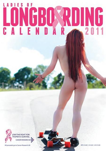 Naked Longboarding Calendar