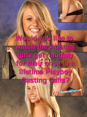 The Girls of the Atlanta Playboy Casting Calls