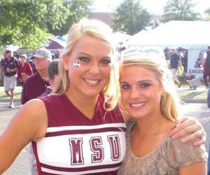 Cheerleader Taylor Corley AKA Taylor Stone