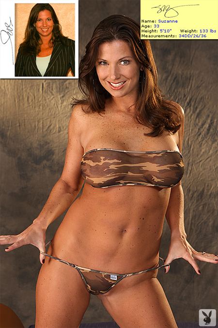 Suzanne at the Atlanta Playboy Casting Calls