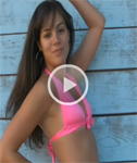 Abby from Nextdoor Models in a Pink Bikini