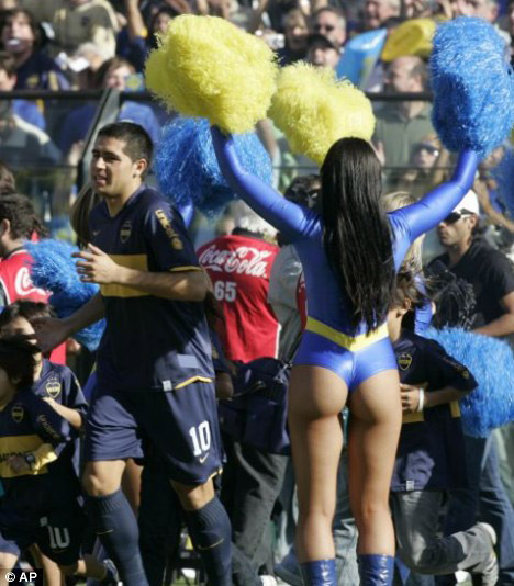 Perfect Ass - Argentine Cheerleader