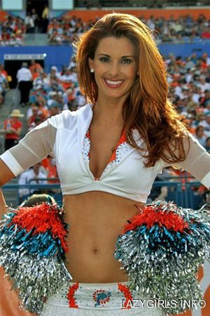 Real NFL Cheerleader