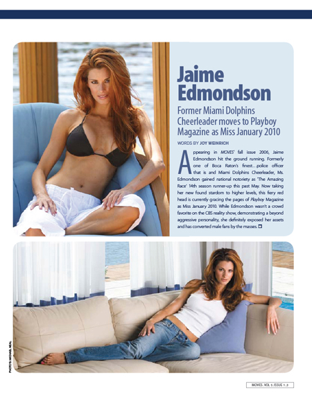 Real NFL Cheerleader - Jaime Edmondson