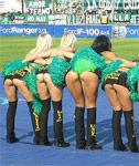 Argentine Cheerleaders with Hot Asses