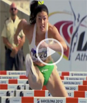 Sports: Michelle Jenneke's Sexy Warm-up Routine