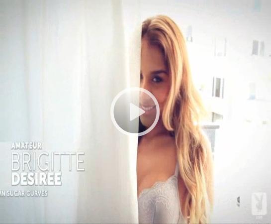 *Video:video of brigitte desiree brown posing for playboy