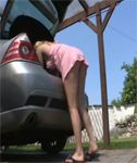 Upskirt Video – Hayley Marie
