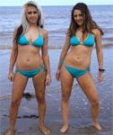 Tania & Angelina Pose for UGotItFlauntIt
