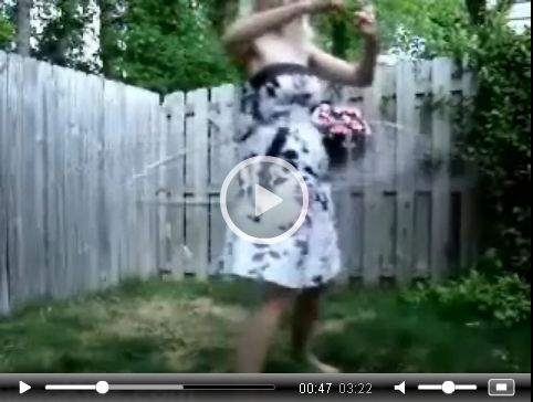 *Video:alisa kiss hula hoop video