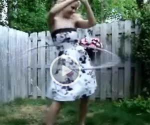 Alisa Kiss Hula Hoop Video