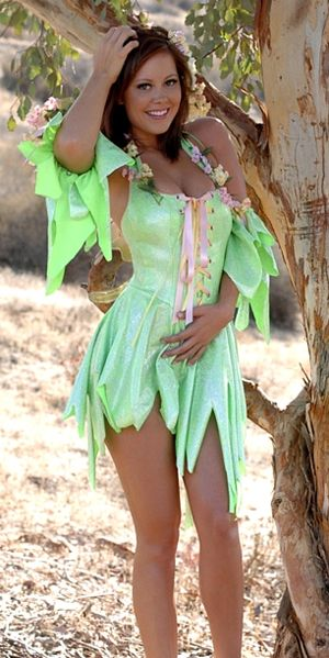 Brooke Lima in Fairy Cosplay
