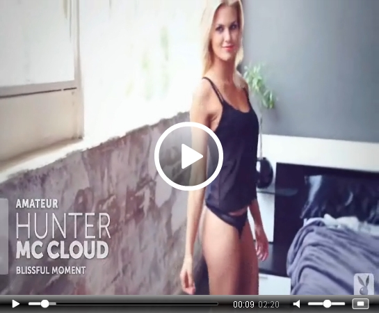 *Video:video of hunter mccloud posing for playboy