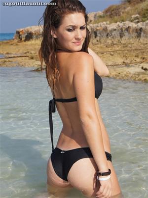 Real Bikini Girls Cassandra and Elma Pose for UGotItFlauntIt