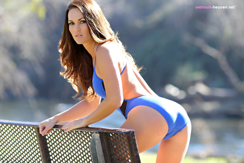 Swimsuit Heaven Babe Morgan