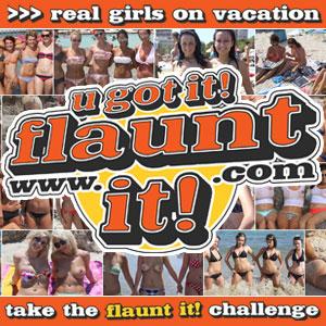 Three Bikini Girls Pose for UGotItFlauntIt