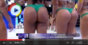 Hot Brazilian Girls Show their Asses