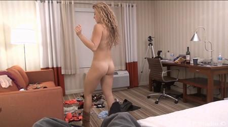 Lauren shows off her tanlines