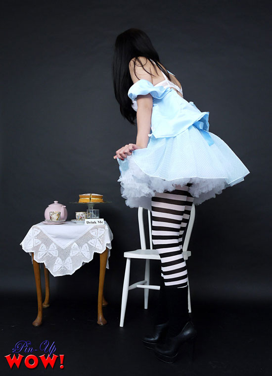 Bryoni Kate in Alice and Wonderland Costume