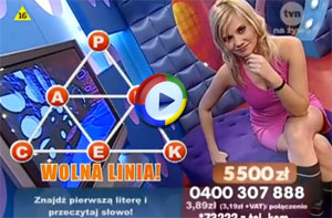 Quiz TV Presenter Upskirt