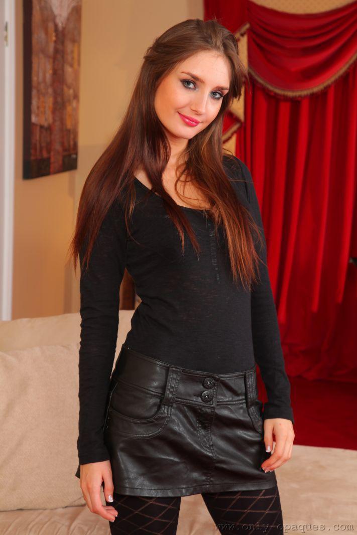 Pantyhose Girl Debra K