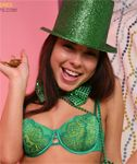 Kari Sweets Nude and Uncensored – St Patty's Day Zipset
