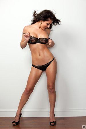 Playboy Miss Social 2011 in her Bra and Panties - Krystal Harlow
