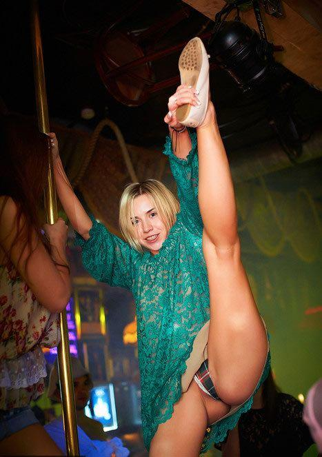Nightclub upskirt pictures