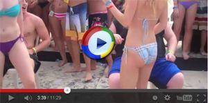 Girls in Bikinis Lapdance in Bikinis