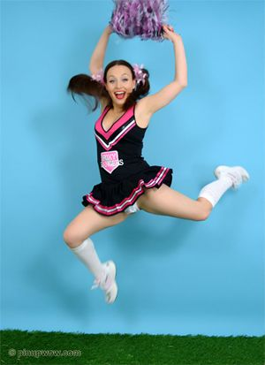 A Cheerleader Upskirt Gallery On Pinup WOW