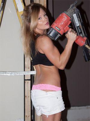 Meet Madden Gets Hot Doing DIY