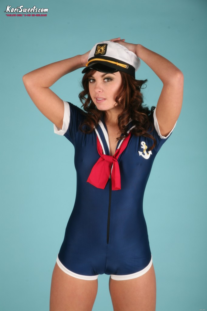 Kari Sweets Sailor Strip Tease