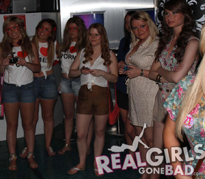 Real Girls Gone Bad Pub Crawl in O'Neill's Bar Tenerife