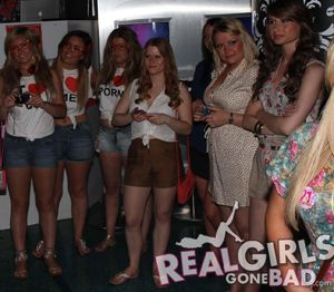 Real Girls Gone Bad Pub Crawl in O'Neill's Bar Tenerife