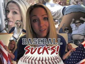 Brooke Marks Baseball Sucks Video