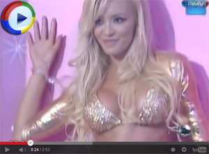 Claudia Ciadone Strips on TV