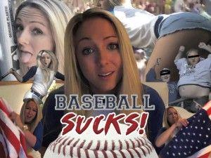 Brooke Marks Baseball Sucks Video