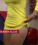 Cute Girls Show Their Knickers on a TV Show