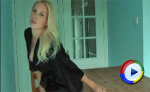 AloneWithHazel Robe Strip Tease