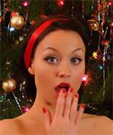 Carla Christmas on Pinup WOW