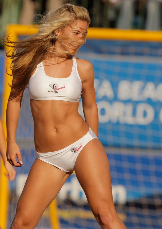 beach volleyball cameltoe
