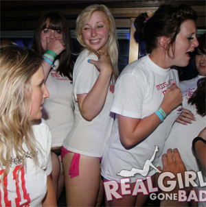 Real Girls Gone Bad Partying