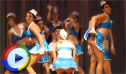 Air Stewardesses Upskirt Dance