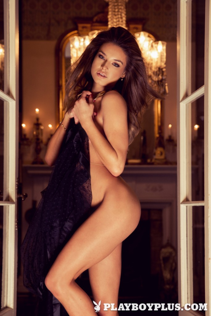 Brittany Brousseau posing nude for Playboy Plus