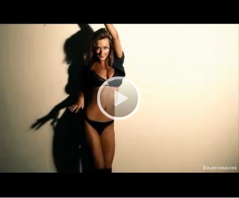 *Video:playboy strip tease video