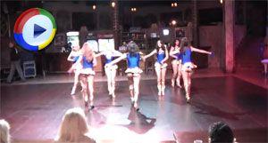 Dancing Girls Upskirted in Miniskirts